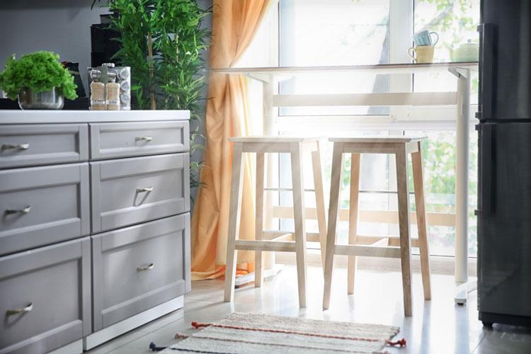 Ánh sáng trong không gian nhà bếp