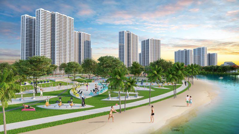 Vinhomes Smart City mang đến không gian sống xanh mát, thư giãn