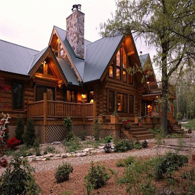 Nhà gỗ hai tầng cổ điển