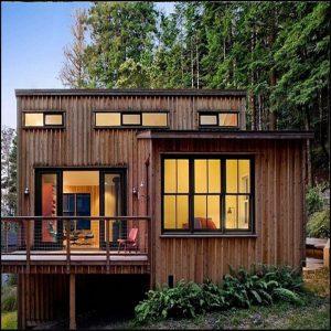Mẫu nhà gỗ đẹp theo phong cách hiện đại
