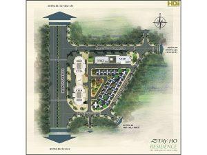 Quy mô dự án chung cư tây hồ residence