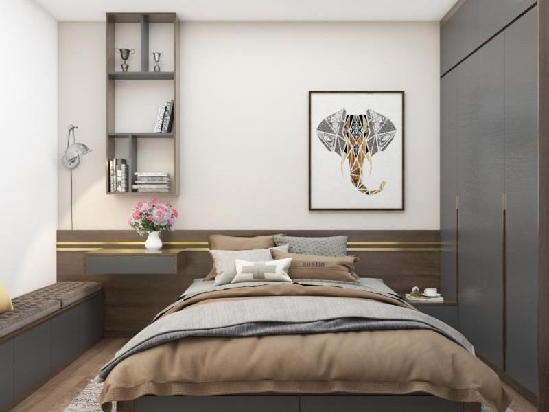 Căn hộ 3 phòng ngủ chung cư An Bình Plaza thiết kế tinh tế