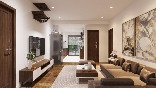 thiết kế nội thất căn hộ giá rẻ